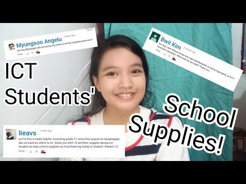 Senior High ICT🇵🇭 MUST HAVE School Supplies! | Eli M