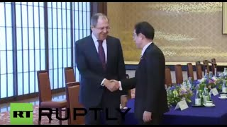 LIVE: Lavrov holds joint press conference with Japanese FM Kishida in Tokyo