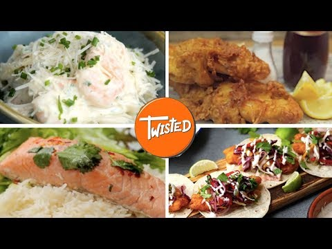 7 Recipes For Seafood Lovers | Twisted