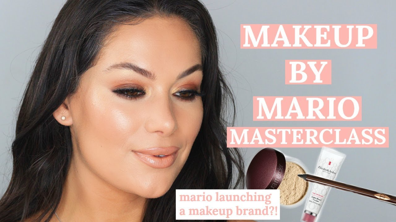 FULL TUTORIAL FROM MAKEUP BY MARIO MASTERCLASS | Beauty's Big Sister