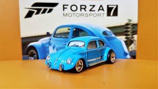 VW Beetle Classic Bug Volkswagen *RR* Hot Wheels FORZA Motorsport 1:64 OVP