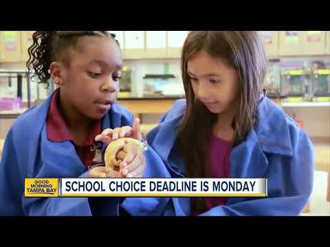Hillsborough school choice applications due Monday, Dec 31