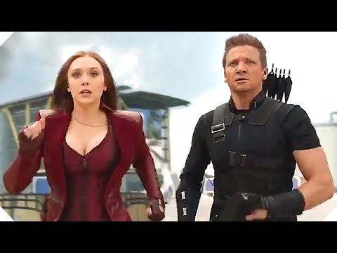 "CAPTAIN AMERICA  CIVIL WAR - ""Airport Fight"" - Blu Ray Movie Clip"