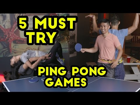 Ridiculous Ping Pong Games