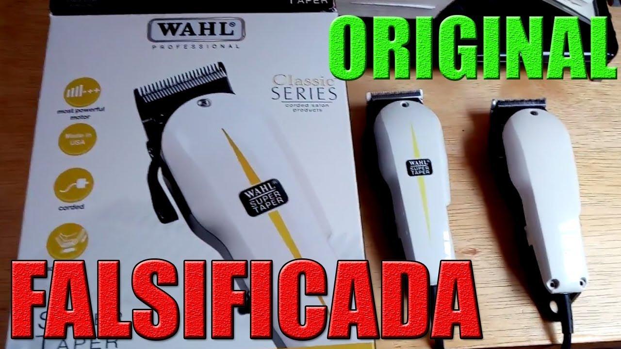 35d28f5a44eb6 Com saber se máquina Wahl é original ou falsificada