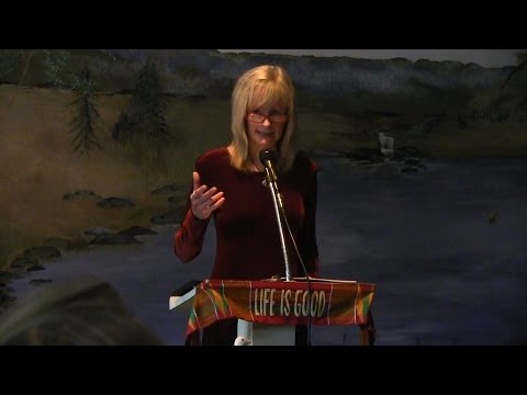 "Barbara Brady, ""Living in Love"" at Creative Thought Center, Waynesville, NC Oct. 2015"