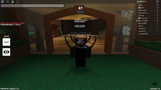 Roblox Twisted Murderer How Glitch in MVP room