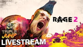 Rage 2 THEY ALL HAVE WRESTLER NAMES TripleJump Live
