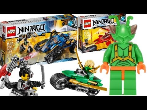 2014 LEGO Ninjago sets: My Thoughts! (Part 1) - YouTube