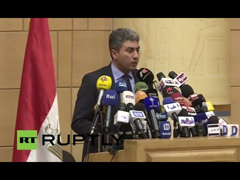 LIVE: Egypt's aviation ministry to hold press conference on EgyptAir flight 804 - ENGLISH