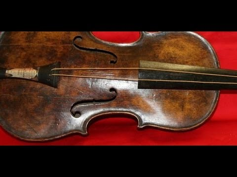 This Violin Was Played as The Titanic Sank Under the Waves