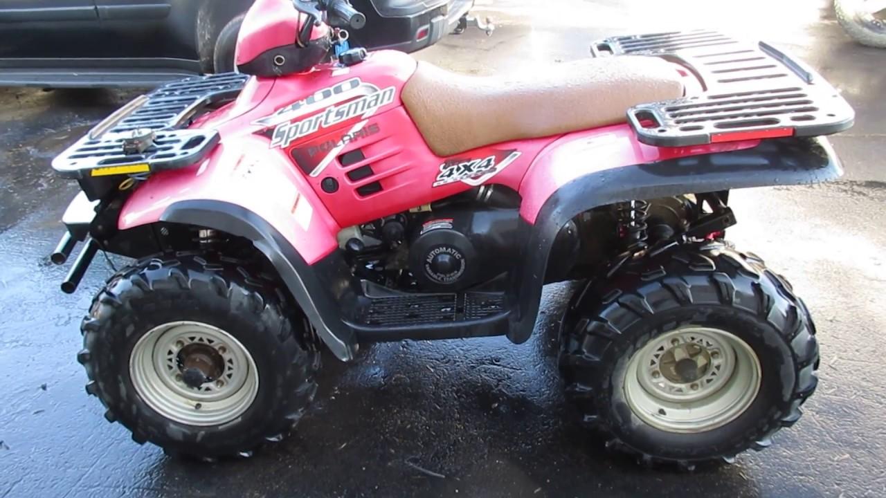 2003 Polaris 400 Sportsman 4x4 ATV For Sale, Parts Only