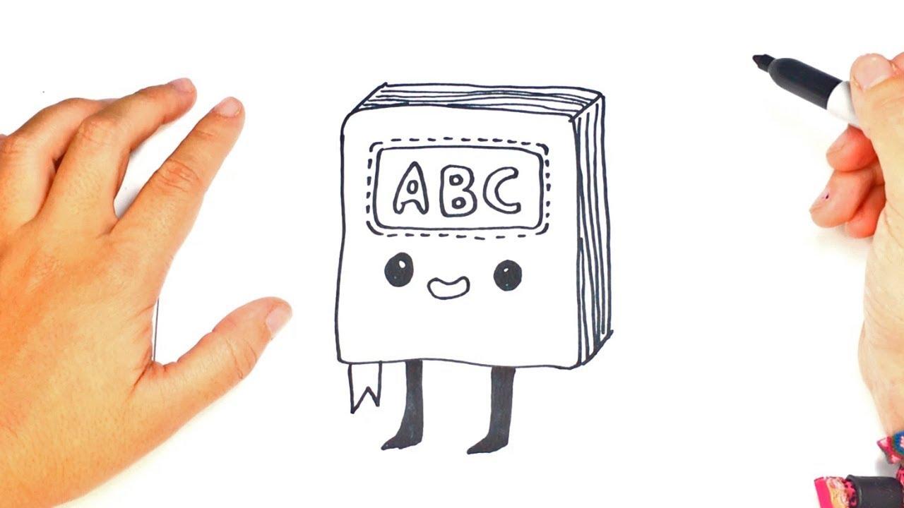 Como Dibujar Un Libro Kawaii Paso A Paso Dibujo Fácil De Libro