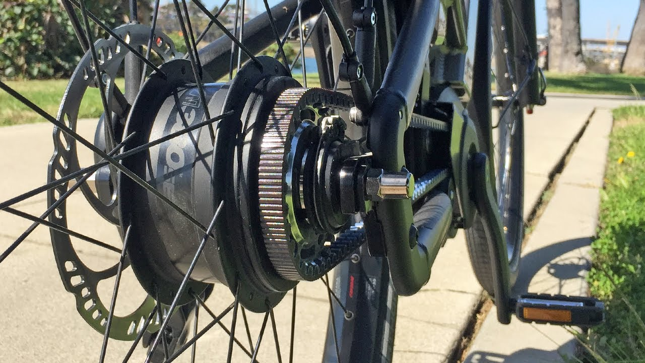 Enviolo NuVinci CVP Hub Review, Stepless Continuously Variable Planetary  Transmission for Bikes