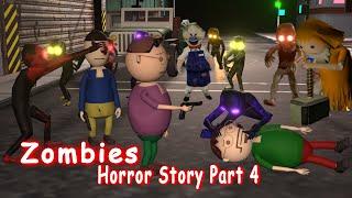 Zombies Horror Story Part 4 | Siren Head Game | Make Joke Horror | gulli bulli zombies part 4