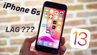 iPhone 6s lên IOS 13: bị giật và chơi game lag như lời đồn ?
