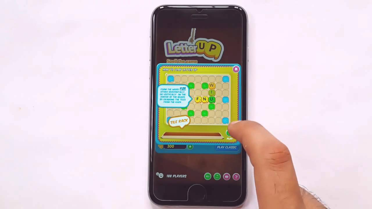 Letter Up Live Word Game Iphone 6 Gameplay Hd Youtube