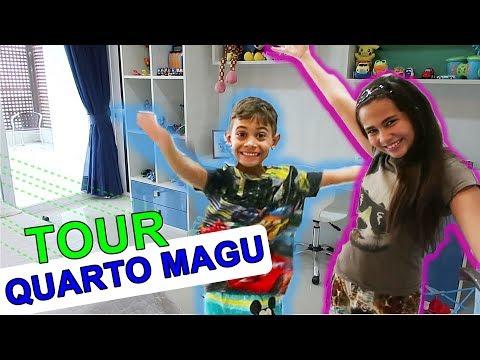 FINALMENTE O TÃO PEDIDO TOUR PELO QUARTO DO MAGU - Bela Bagunça