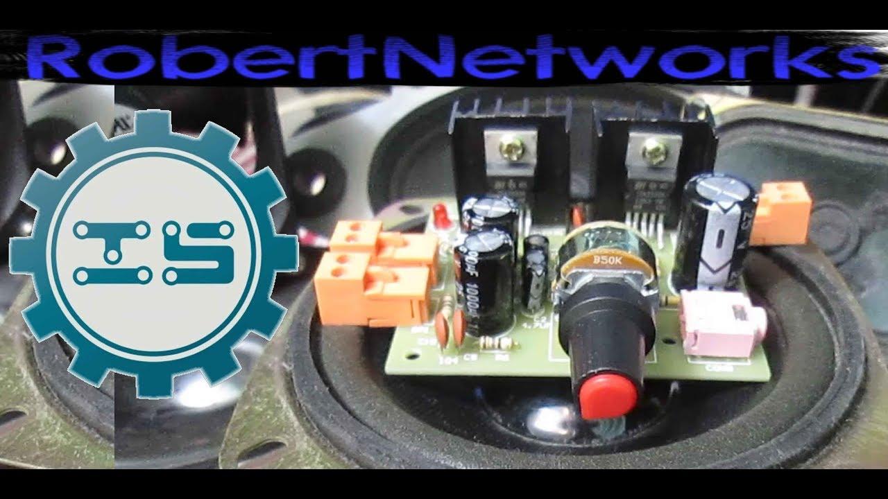 Icstation Double Tda2030 Amplifier Board Review Robertnetworks Poweramplifiergenneralpurposebyictda2030
