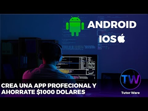 LEARN TO CREATE A PROFESSIONAL (APP) WITHOUT KNOWING TO DECODE AND RAISE THE A PLAY STORE (CLASS 1)