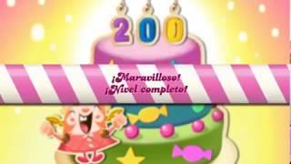 Candy crush saga - Nivel 208