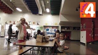 ЧТО ЕДЯТ ДЕТИ В АМЕРИКАНСКОЙ ШКОЛЕ-Бесплатные обеды для детей летом/ Идем на обед в школу Влог