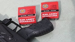 7.62x39mm, 124gr BTHP, 8V3, Red Army Standard (AM2801) Review