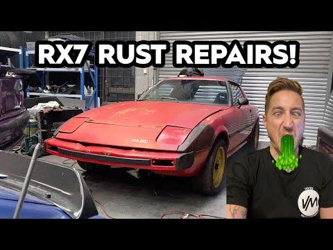 Repairing Rust On The RX7 (RUSTX7)