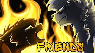 Коты воители клипы: Белка и Уголёк ×FRIENDS×