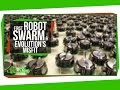 The First Robot Swarm, and Evolution