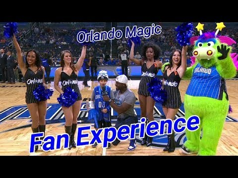 Orlando Magic Intro Fan of the Game