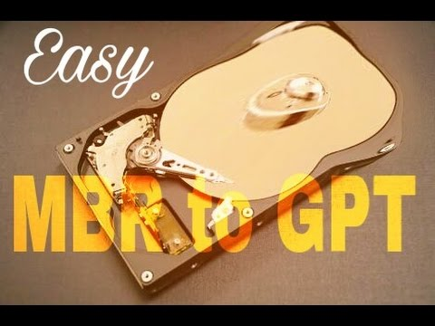Convert Hard Disk from MBR to GPT ( Windows user )