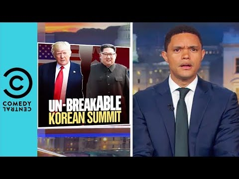 North Korea Is Back On Trump's Good Side | The Daily Show With Trevor Noah