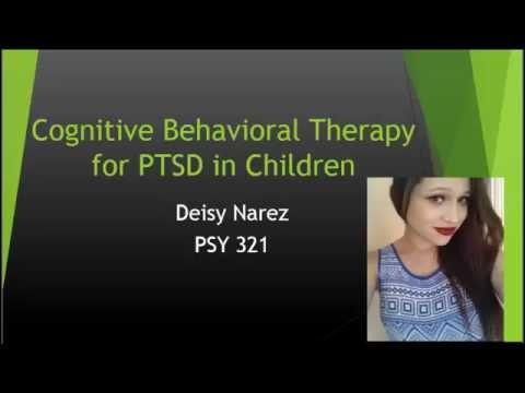 cognitive behavioural therapy for ptsd