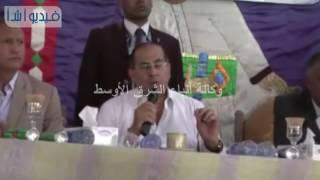 بالفيديو:المحافظ ومدير الأمن يشهدان إنهاء خصومة ثأرية بقرية