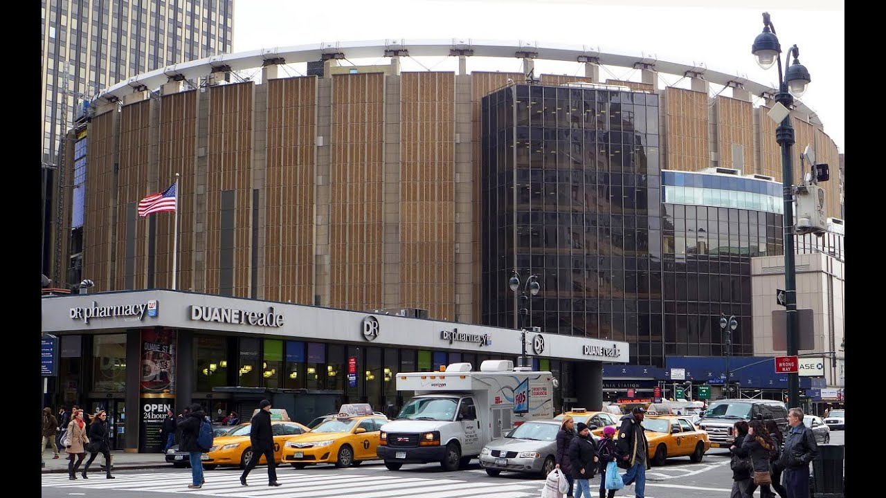 madison square garden gets ready for narendra modi 39 s address youtube ForAddress Of Madison Square Garden