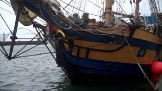 Tall Ship Hawaiian Chieftain Visits Newport
