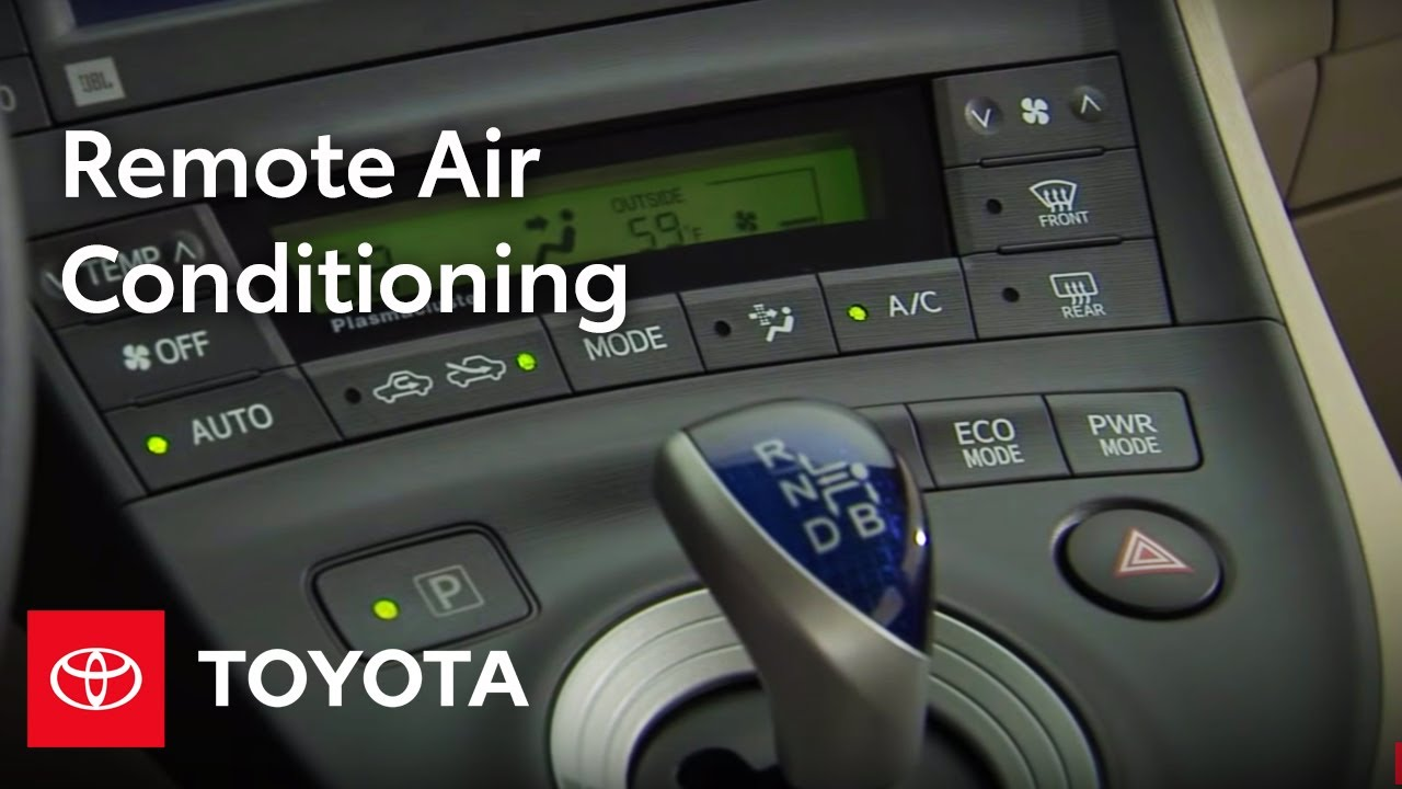 2010 Prius How-To: Remote Air Conditioning | Toyota