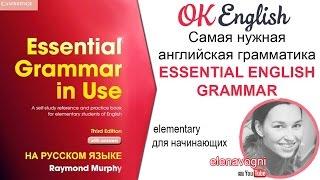 Самая нужная английская грамматика для начинающих - Essential Grammar in Use. Уроки английского