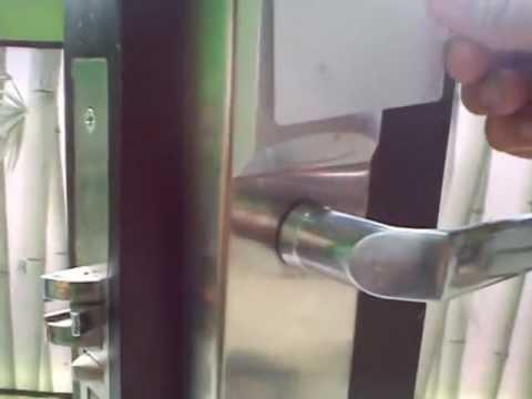 Kunci Pintu Otomatis Cara Pemasangan Doovi