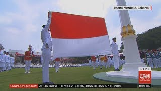 Download Video Full - Pengibaran Bendera Sang Saka Merah Putih di Istana Merdeka MP3 3GP MP4