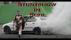 Action Stuntshow mit Monstertrucks in Suhl 2017