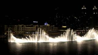 The Dubai Fountain show