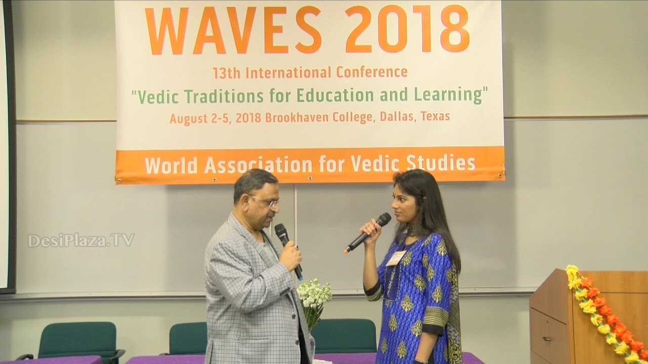 Media Byte / Interview with  Mr Pankaj Kumar at WAVES  Dallas, Texas - 2018.