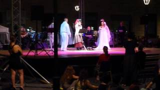 Canzone dal musical fantasmi a Roma, piazza San Silvestro=Song from the musical 'Ghosts in Rome'