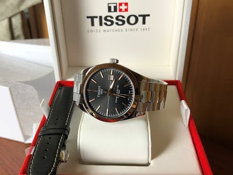 Tissot Gentleman Powermatic 80 Silicium 40mm Bezel 18K Gold