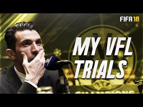 FIFA 18 Pro Clubs: My VFL Trials - Borussia Dortmund Vs. Real Madrid