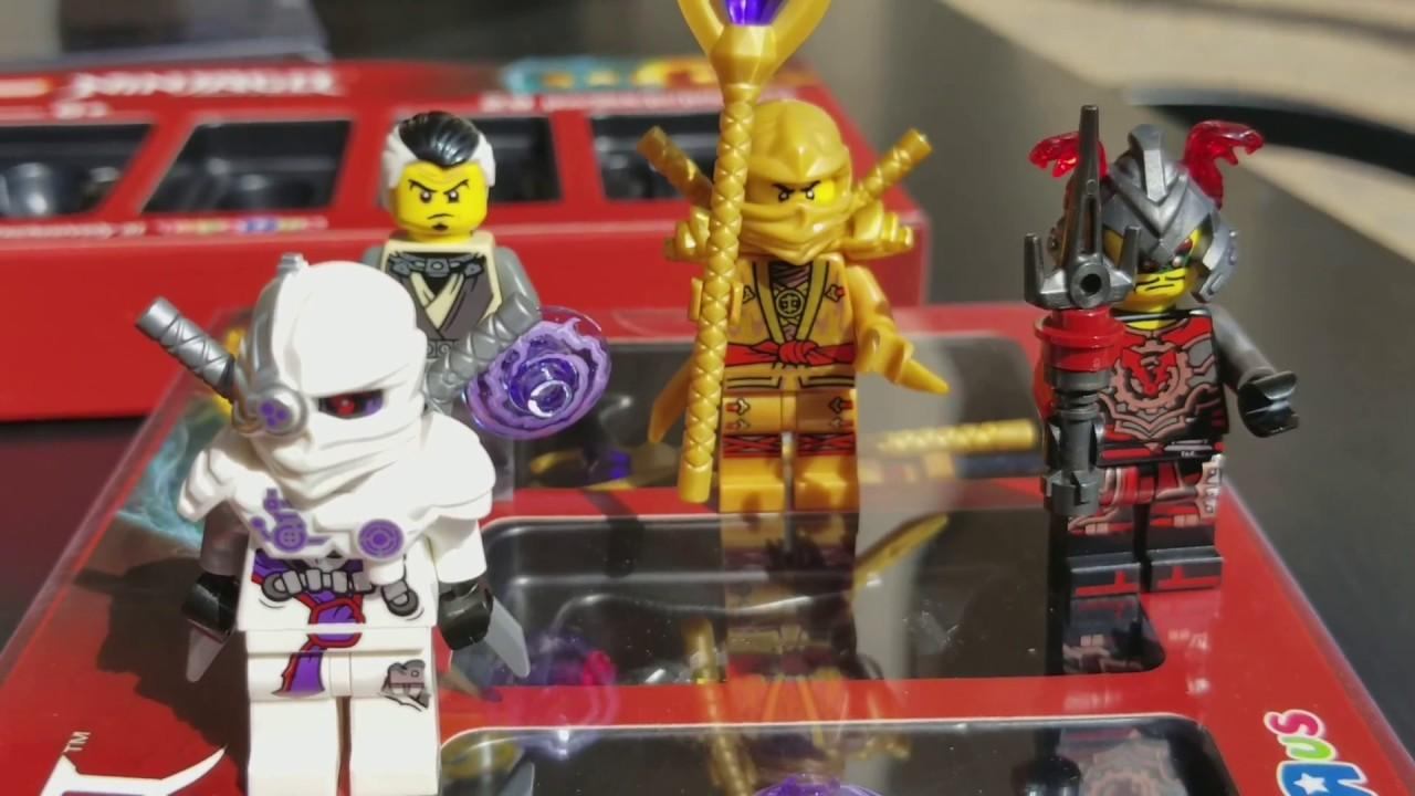 Lego Ninjago Movie Minifigures Unboxed Toys R Us Exclusive Toys