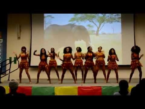 UC Riverside Nigerian Association Dance Team