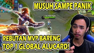 Fanny dan Top 1 Global Alucard Rebutan MVP ! - Mobile Legends Indonesia #17